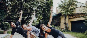 Workout im Freien